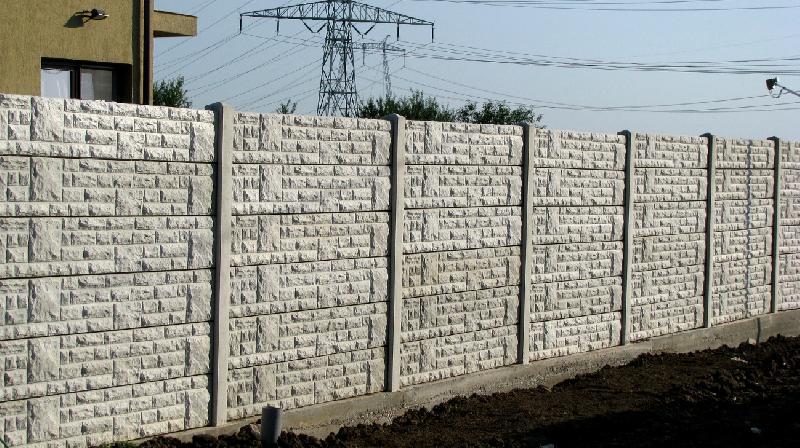 Gard de beton pret