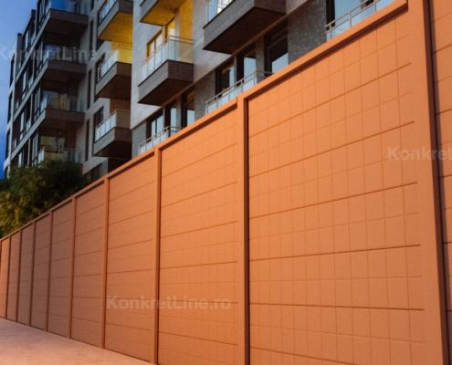 Gard prefabricat din beton - Square (KM206)
