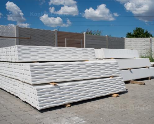 Showroom gard prefabricat din beton - KonkretLine