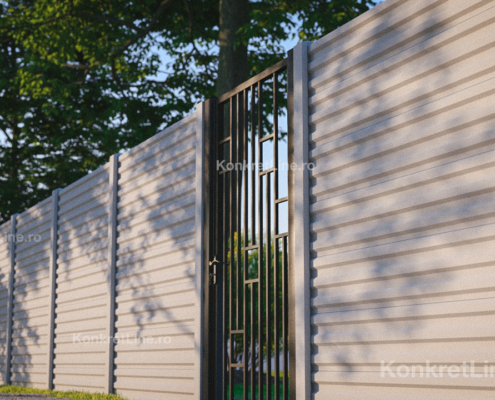 Gard prefabricat din beton - Liner (KM100)