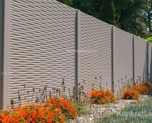 Gard prefabricat din beton - Arizona (KM203)