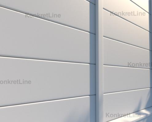 Gard prefabricat din beton - KonkretLine