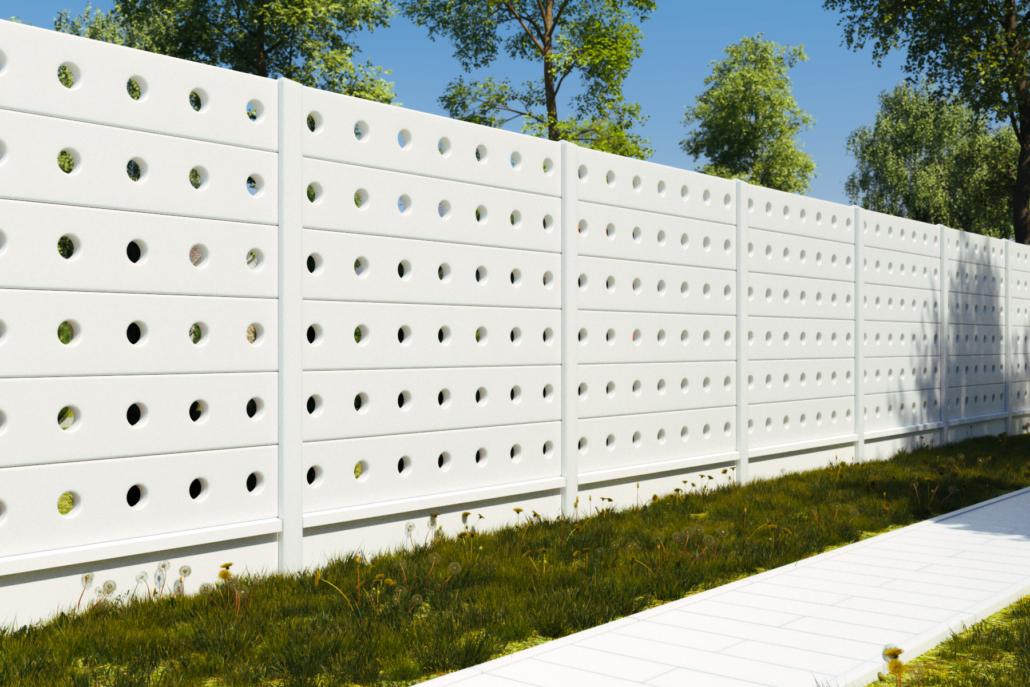 Gard prefabricat din beton - Lights (KS801)