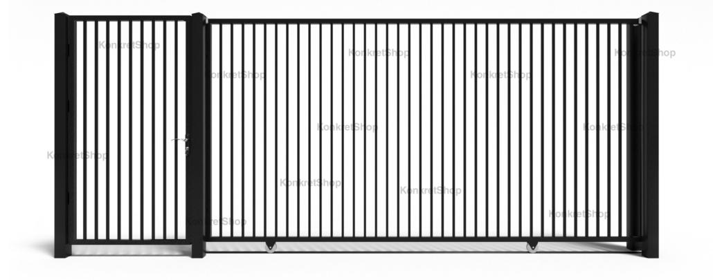 Porti metalice - Corby (KP100)
