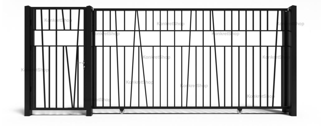 Porti metalice - Wales (KP102)