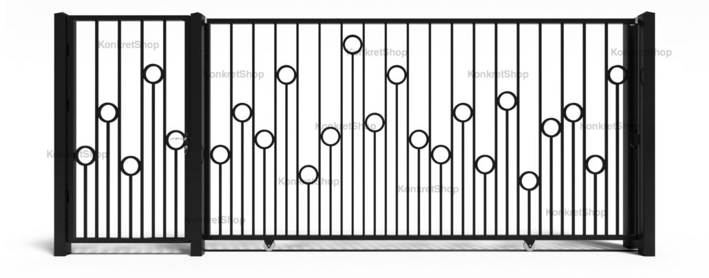 Porti metalice - Amble (KP103)