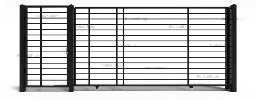 Porti metalice - Embleton (KP106)