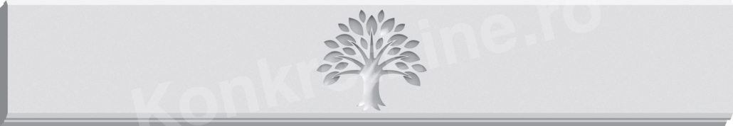 Gard prefabricat din beton - Life Tree (KS200)