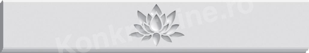 Gard prefabricat din beton - Lotus (KS201)