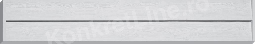 Gard prefabricat din beton - Timberlap (KT104)