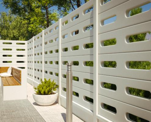 Gard prefabricat din beton - Visio (KS800)